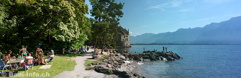 Chateau Chillon Plage