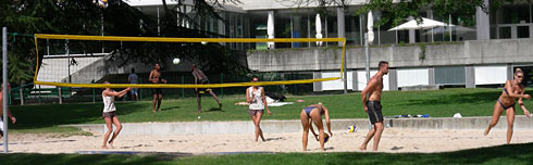 Beach-Volley Plage Arabie Vevey