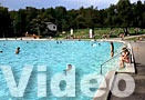 Freibad Weyermannshaus Bern Video