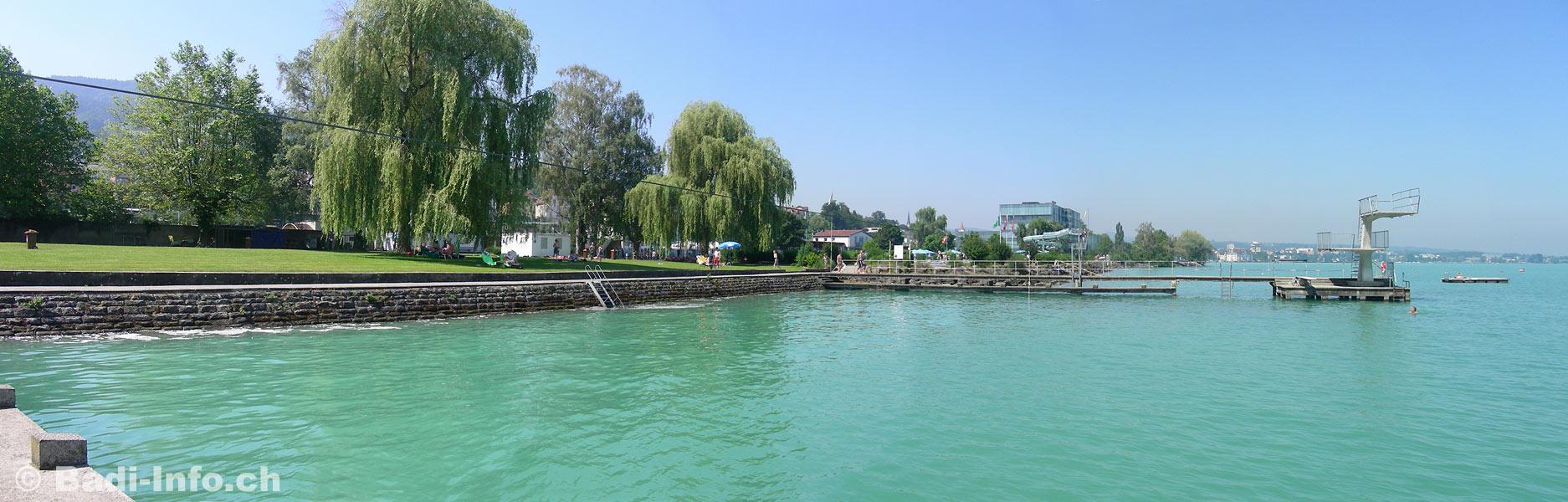Strandbad am Bodensee bei Rorschach