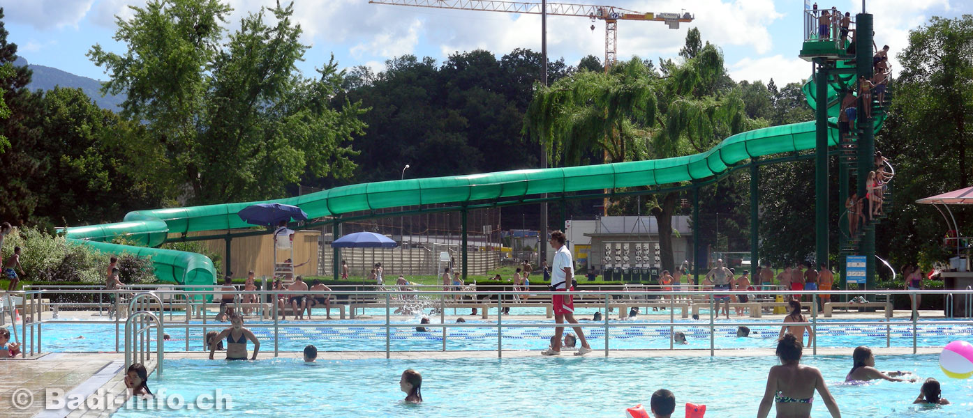 carouge toboggan piscine
