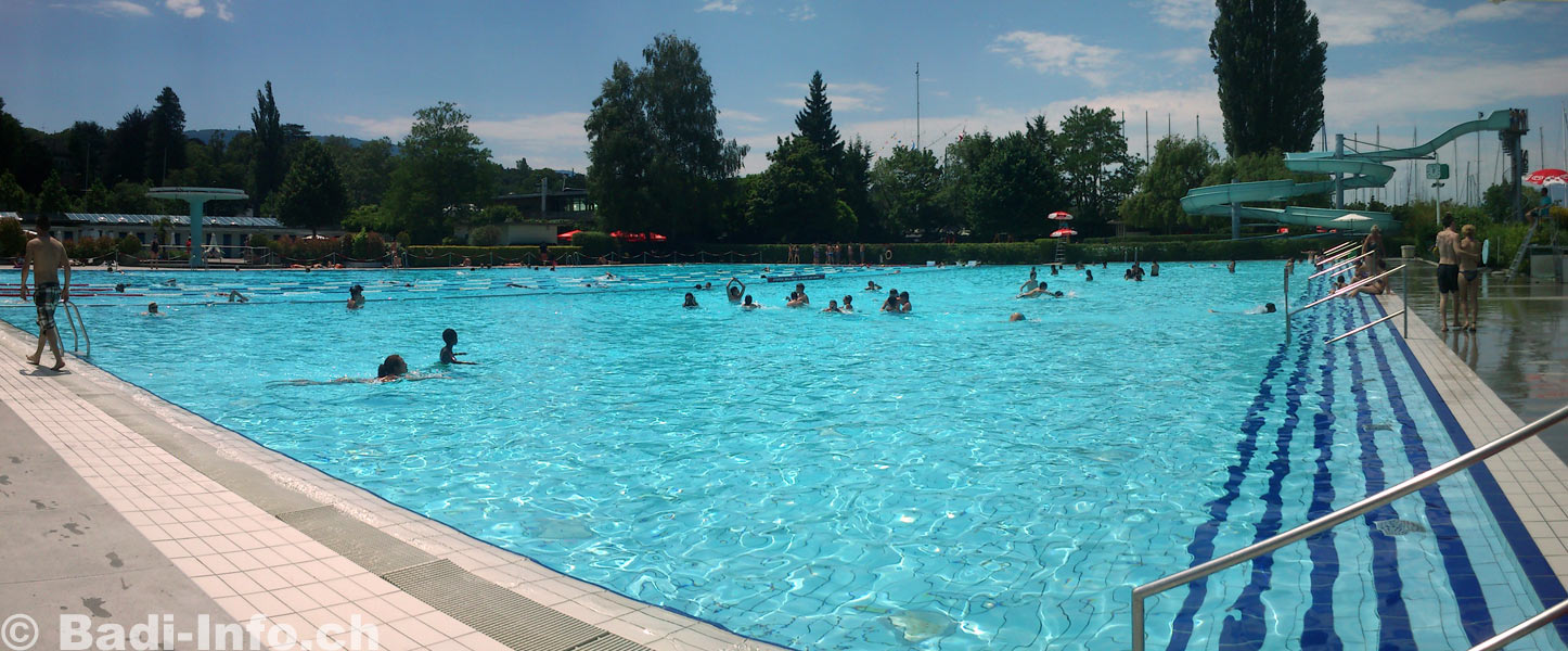 Genève-Plage - la piscine