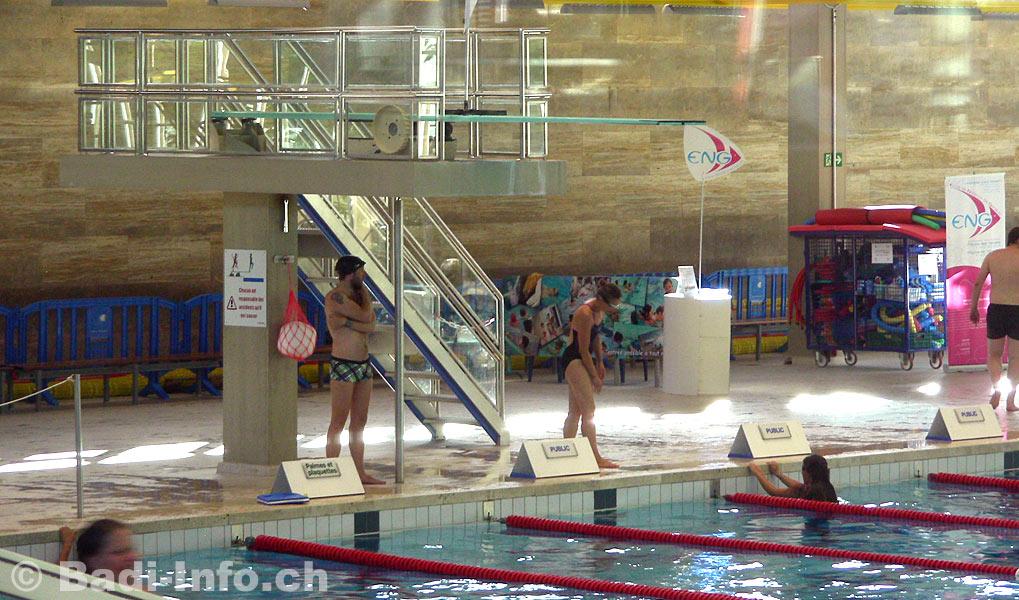 Piscine vernets geneve le plongeoir for Plongeoir piscine