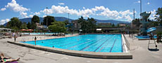 Piscine exterieure Grand-Lancy Geneve