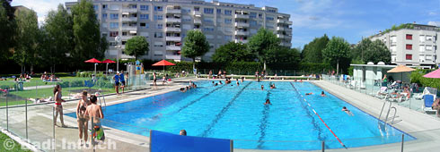 Geneve Thonex Piscine Marcelly