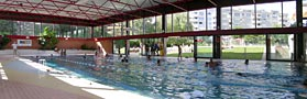 Geneve Thonex Piscine couverte Marcelly