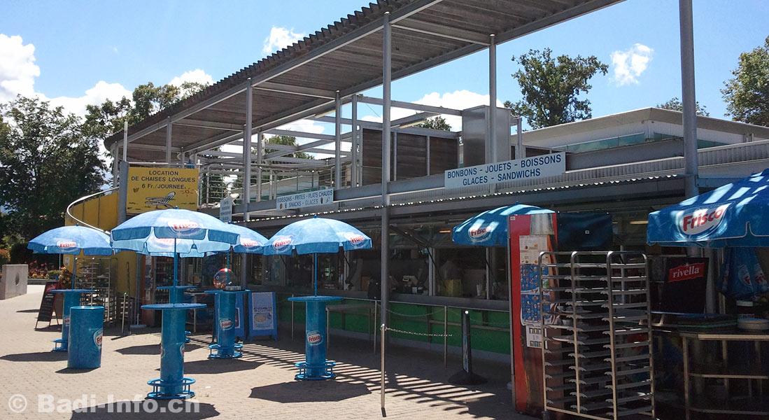 Vernier piscine restaurant for Restaurant piscine