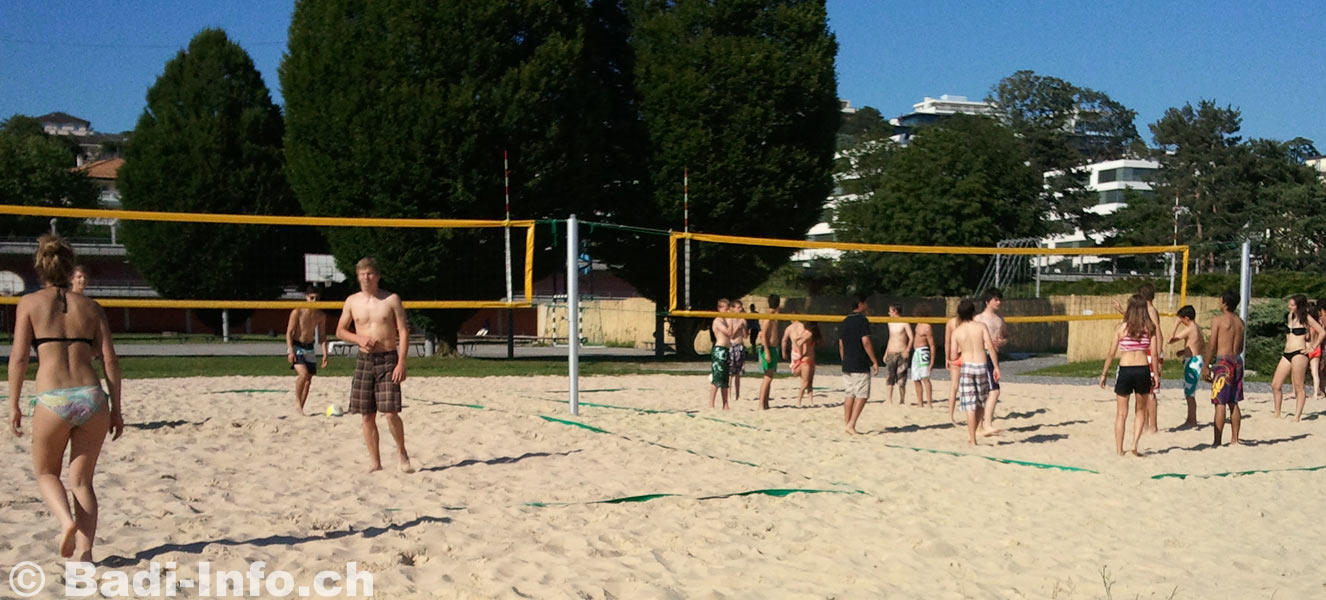 Lausanne piscine bellerive beach volley for Bellerive lausanne piscine