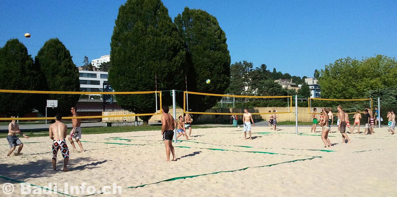 Piscine bellerive beach volley for Bellerive lausanne piscine