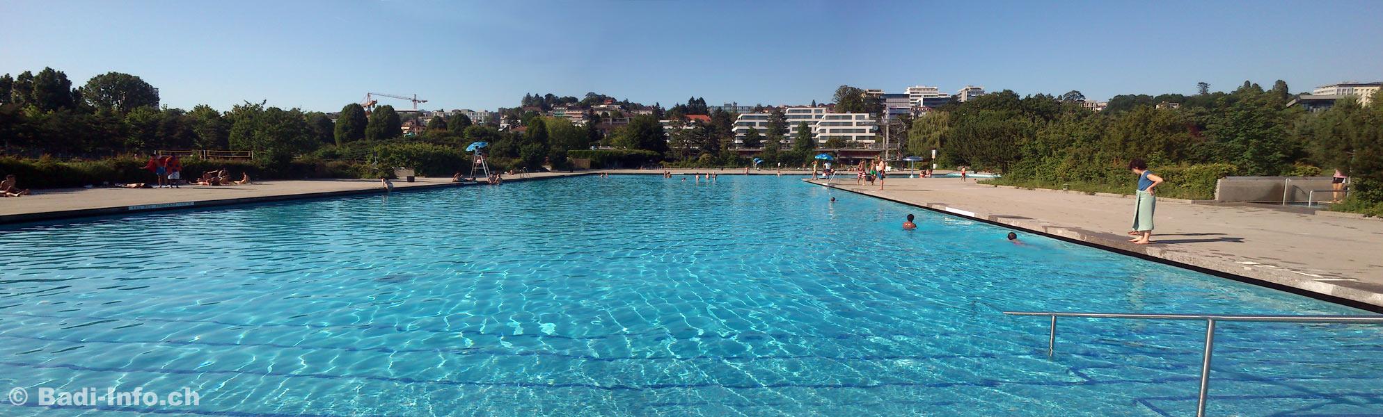 Piscine bellerive plage lausanne bassin non nageurs for Piscine de jardin suisse