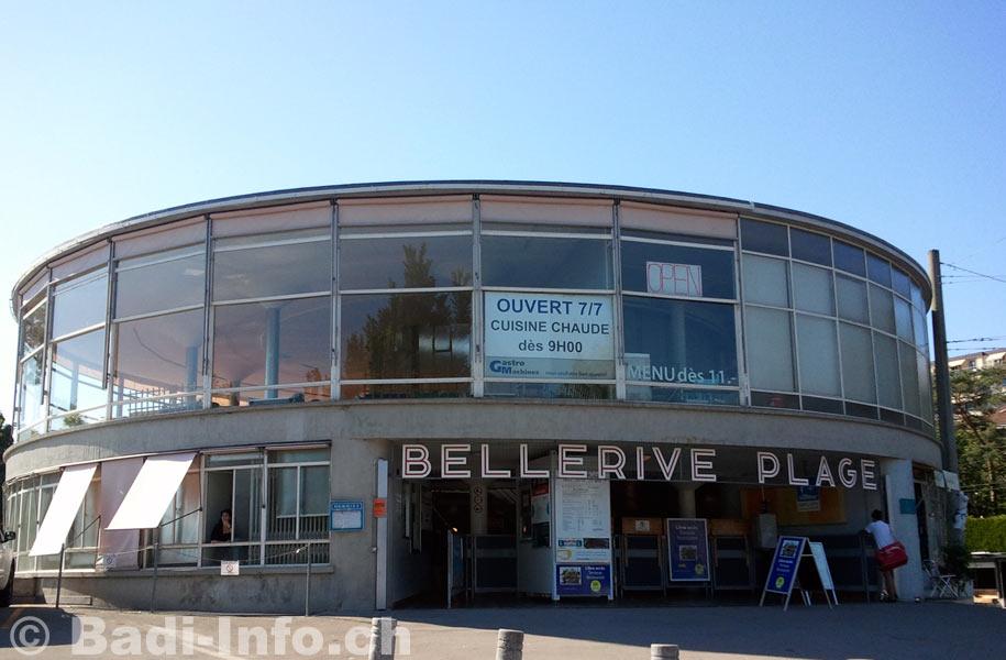 Bellerive plage lausanne l 39 entr e for Bellerive lausanne piscine