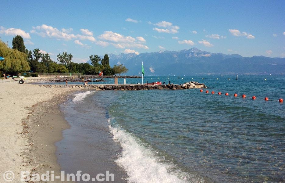 Lac l man bellerive plage lausanne for Bellerive lausanne piscine