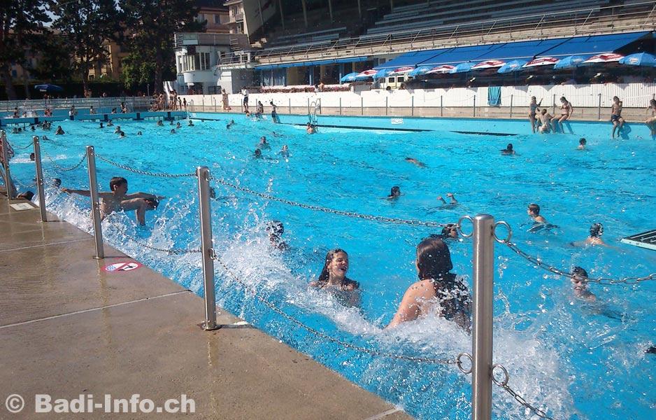 Lausanne piscine montchoisi les vagues for Bellerive lausanne piscine