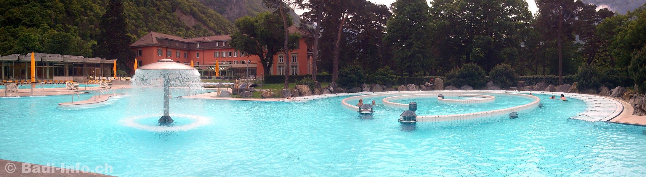 Bain thermal de lavey for Hotel des grands bains