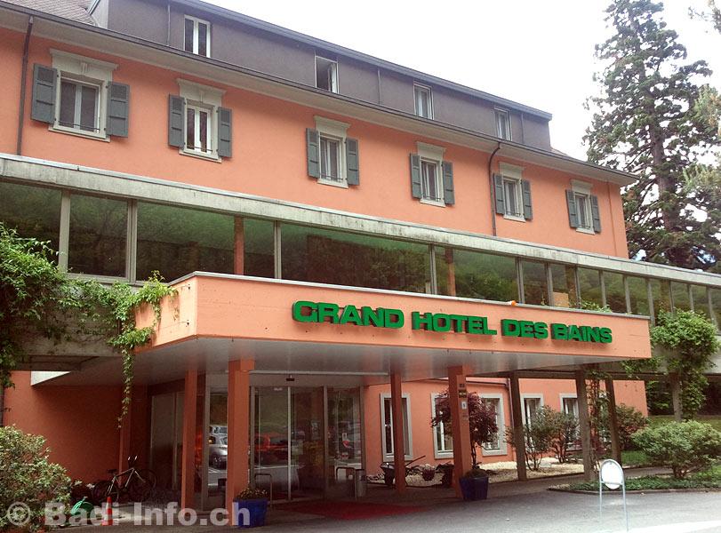 Grand hotel des bains lavey for Hotel des bains saillon