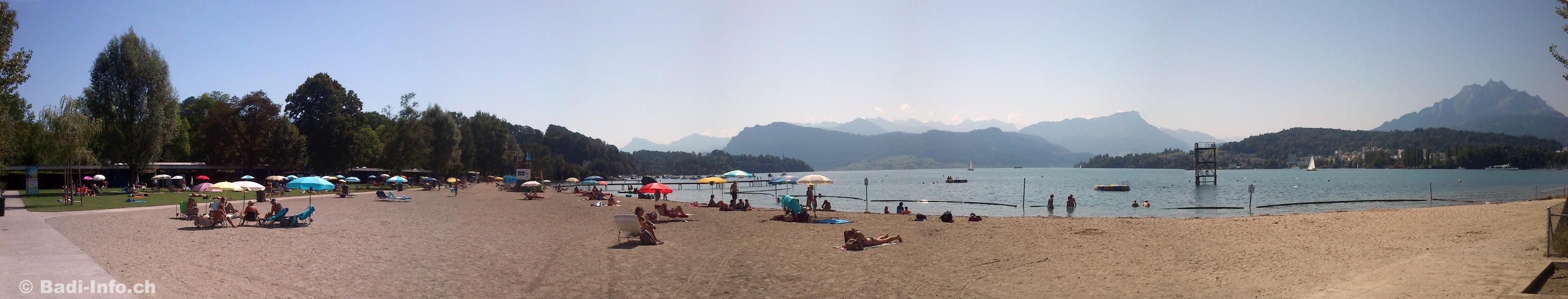 Strand-Bad Lido Luzern