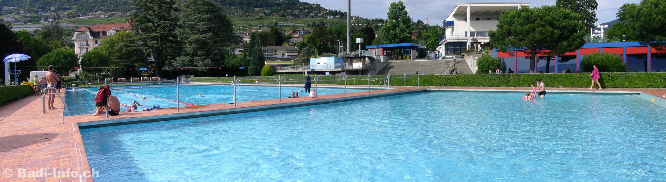 Piscine exterieure vevey corseaux for Attraper des poux a la piscine