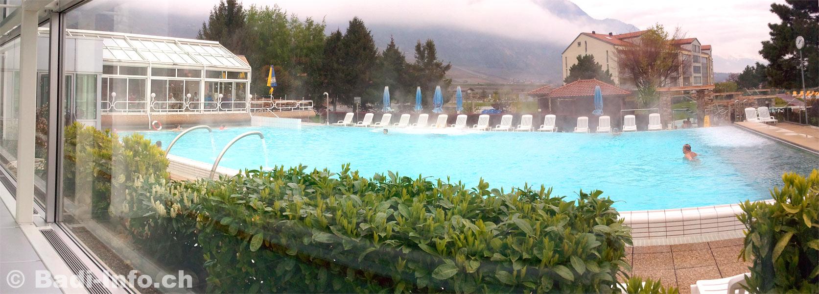 Bains thermaux de saillon for Hotel des bains saillon suisse