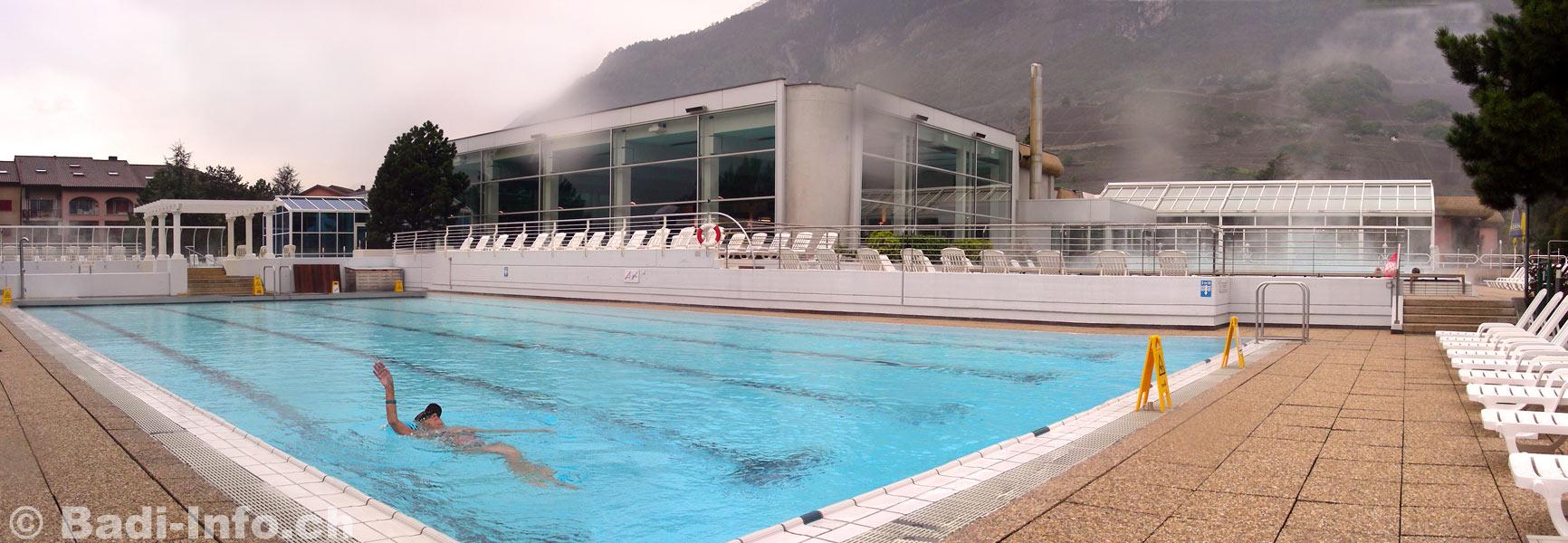 Bains de saillon piscine for Hotel des bains saillon suisse