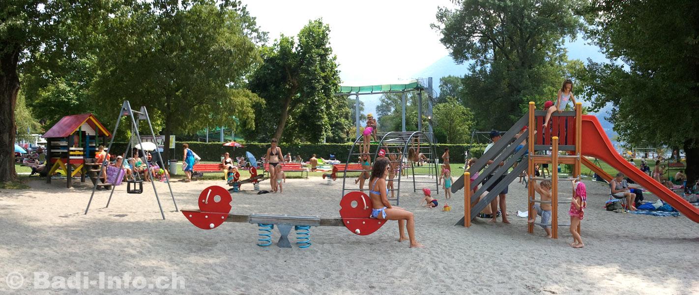 Ascona strandbad kinderspielplatz - Bagno pubblico ascona ...