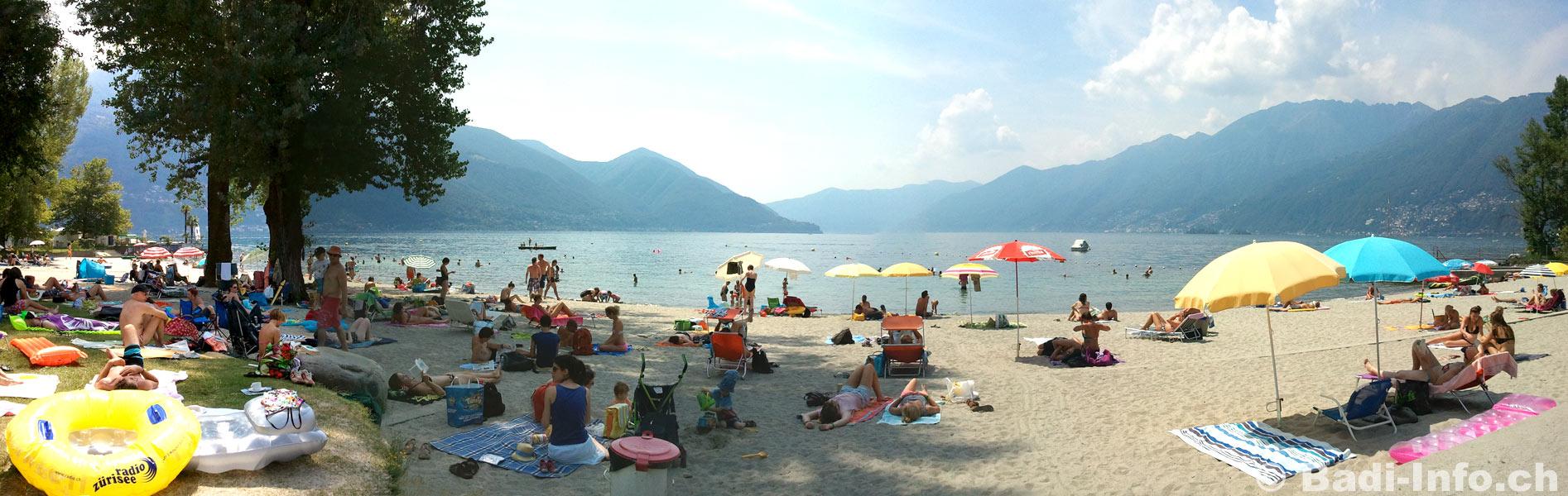 Strandbad von Ascona - «Bagno Pubblico»