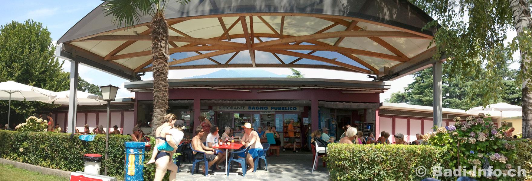 Ascona bagno pubblico strandbad restaurant - Bagno pubblico ascona ...