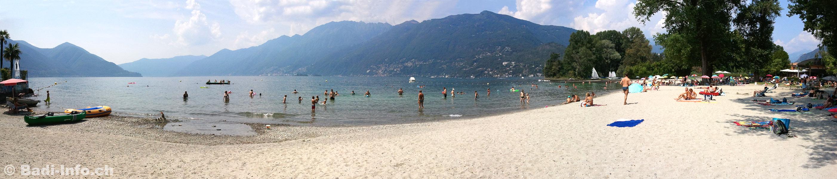 Ascona beach - Bagno pubblico ascona ...
