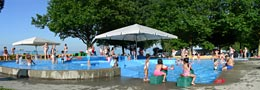 Kinder Badespass Freibad Arbon