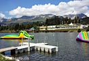 Crans-Montana beach club piscine