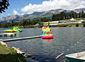 Crans-Montana piscine beach club