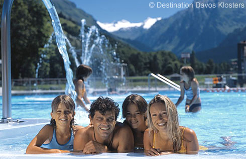 Freibad Klosters