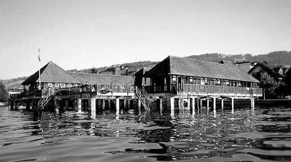 1923 24 Entsteht Die Rorschacher Badhütte