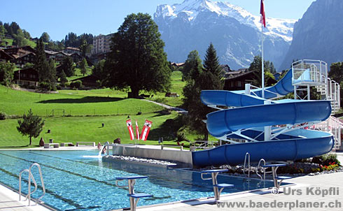 Schwimmbad Hellbach Grindelwald
