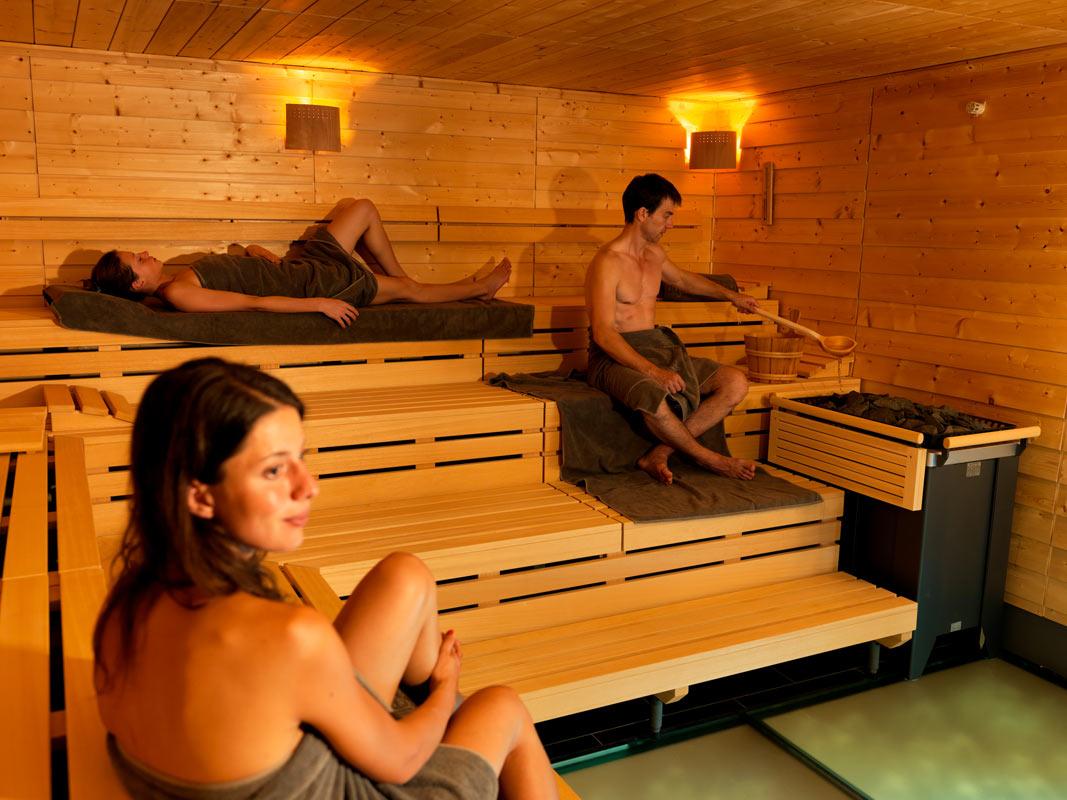 Sauna im Erlebnisbad Aquabasilea in Pratteln