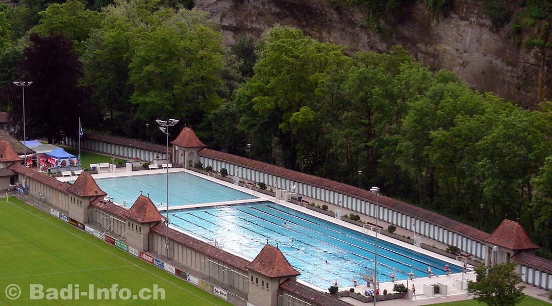 Bains de la motta piscine en plein air fribourg for Piscine fribourg