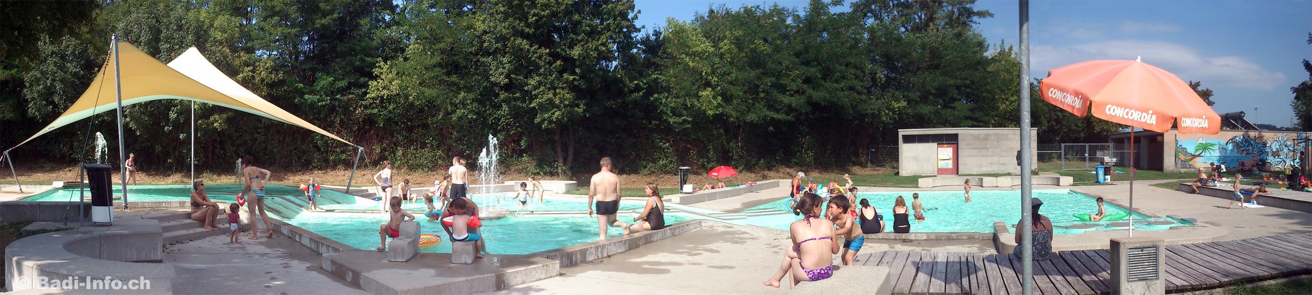 Kinderbad Schwimmbad Pratteln