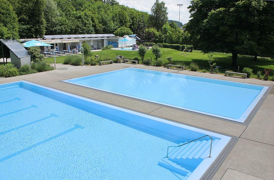 Schwimmbad rickenbach becken for Schwimmbad becken