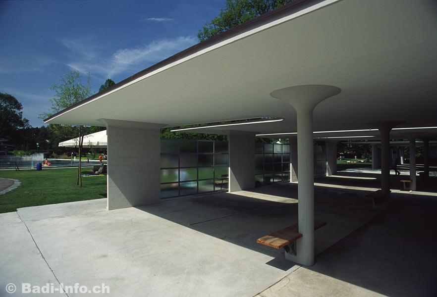 Architektur schwimmbad allenmoos z rich - Schwimmbad architektur ...