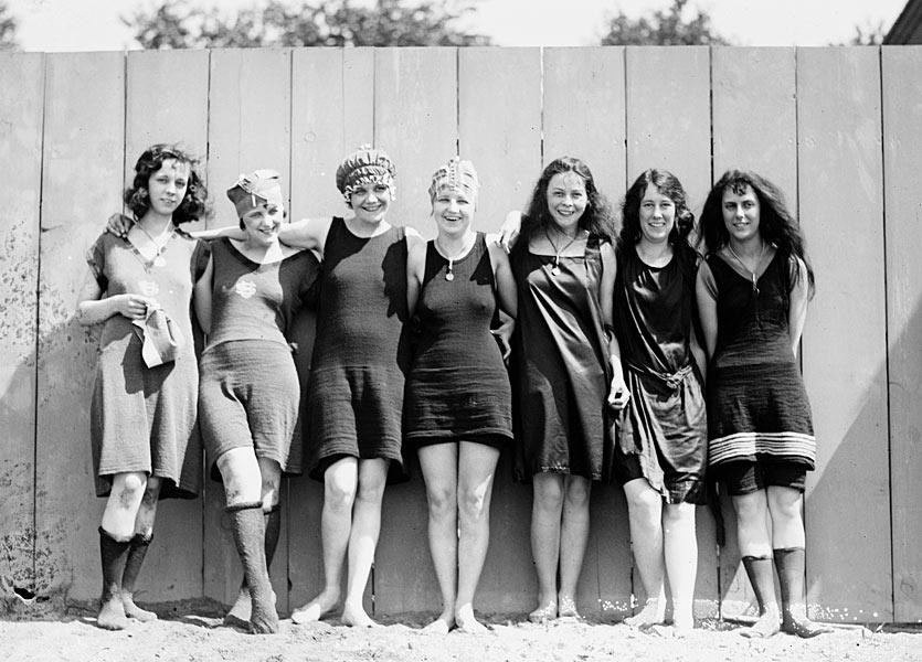 Frauen bademode 1920 - Costumi da bagno del 1900 ...